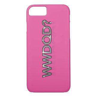 Coque iPhone 8/7 WWDQD ? * Queest-ce qu'une Reine d'entrave ferait