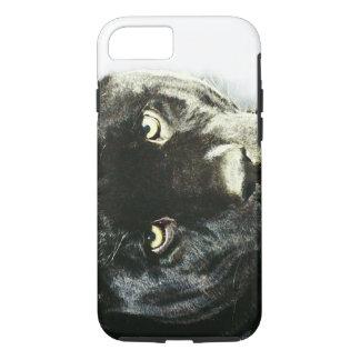 Coque iPhone 8/7 Yeux de cas dur de l'iPhone 7 de Jaguar
