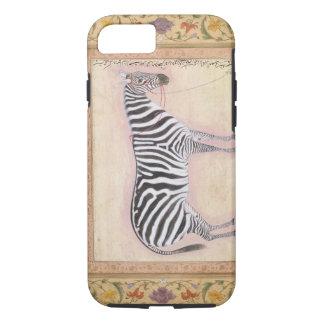 """Coque iPhone 8/7 Zèbre, du """"album de Minto"""", 1621 (gouache sur la"""