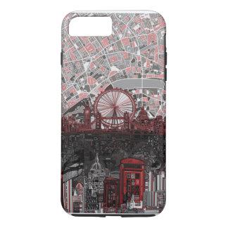 Coque iPhone 8 Plus/7 Plus abrégé sur horizon de Londres