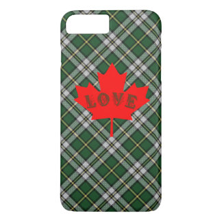 Coque iPhone 8 Plus/7 Plus Amour breton Canada de cas de téléphone de plaid