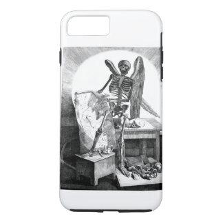 Coque iPhone 8 Plus/7 Plus Ange de l'anatomie de cru de la mort