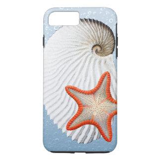 Coque iPhone 8 Plus/7 Plus Argonaute et étoiles de mer