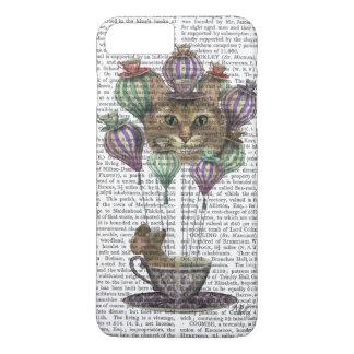 Coque iPhone 8 Plus/7 Plus Ballon à air chaud de chat de Cheshire