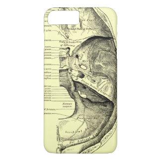 Coque iPhone 8 Plus/7 Plus Base vintage de l'anatomie | de la surface