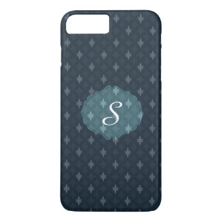 Coque iPhone 8 Plus/7 Plus Bleu marine foncé chic de Nuetral - cas de