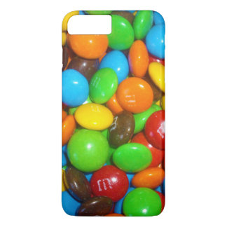 Coque iPhone 8 Plus/7 Plus Bonbons au chocolat colorés,