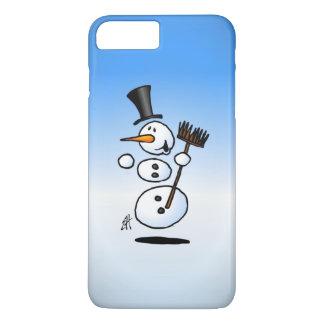 Coque iPhone 8 Plus/7 Plus Bonhomme de neige de danse