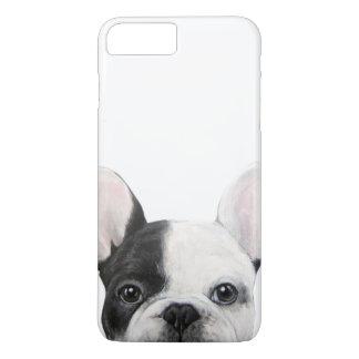 Coque iPhone 8 Plus/7 Plus Bouledogue français, peinture originale par le