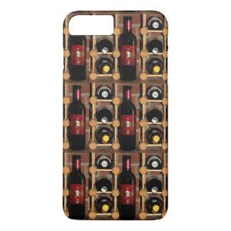 Coque iPhone 8 Plus/7 Plus Bouteilles de vin dans le cas 8 plus/7 plus