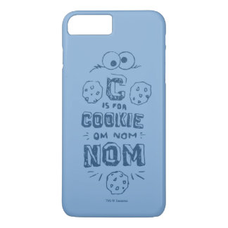 Coque iPhone 8 Plus/7 Plus C est pour le biscuit