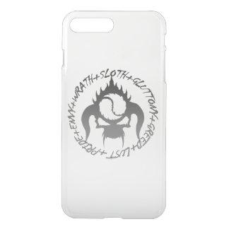 Coque iPhone 8 Plus/7 Plus Caisse de déflecteur de sept péchés mortels