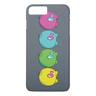 Coque iPhone 8 Plus/7 Plus Caisse multicolore de téléphone de Pogo O.o