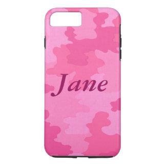 Coque iPhone 8 Plus/7 Plus Caisse personnalisée de l'iPhone 7 de camouflage