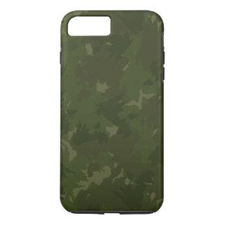 Coque iPhone 8 Plus/7 Plus Camouflage dense vert/noir