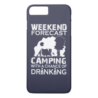 COQUE iPhone 8 PLUS/7 PLUS CAMPING DE PRÉVISION DE WEEK-END…