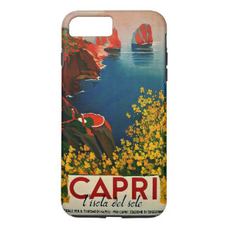 Coque iPhone 8 Plus/7 Plus Capri vintage L'Isola del Sole Italie