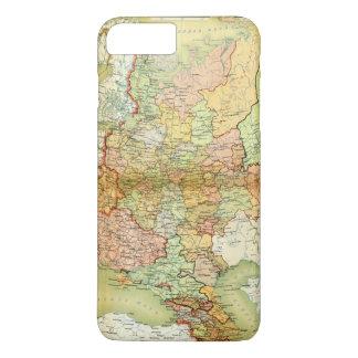 Coque iPhone 8 Plus/7 Plus Carte 1928 de vieille Union Soviétique URSS Russie