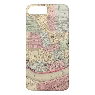 Coque iPhone 8 Plus/7 Plus Carte de Cincinnati par Mitchell