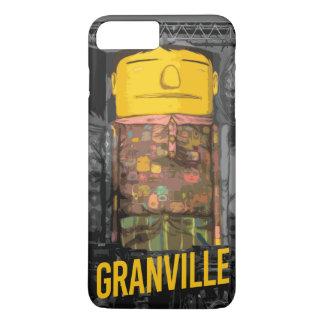 Coque iPhone 8 Plus/7 Plus cas de Granville d'iPhone (4,5,6,7,8)