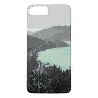 Coque iPhone 8 Plus/7 Plus cas de lac mountain d'iPhone (4,5,6,7,8)
