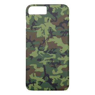 Coque iPhone 8 Plus/7 Plus Cas de l'iPhone 6 de camouflage de Camo