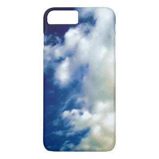 Coque iPhone 8 Plus/7 Plus Cas de l'iPhone 7 de nuages blancs et de ciel bleu
