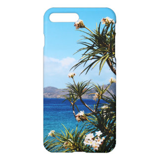 Coque iPhone 8 Plus/7 Plus Cas de l'iPhone 7 de Plumeria