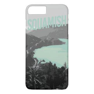 Coque iPhone 8 Plus/7 Plus cas de Squamish d'iPhone (4,5,6,7,8)
