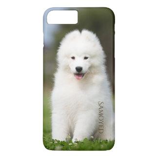 Coque iPhone 8 Plus/7 Plus Cas de téléphone de chiot de Samoyed