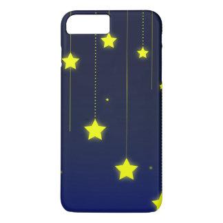 Coque iPhone 8 Plus/7 Plus Cas de téléphone de nuit étoilée