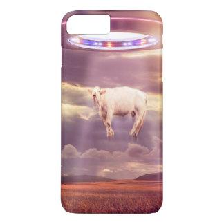 Coque iPhone 8 Plus/7 Plus Cas de téléphone de rencontre d'abduction de vache
