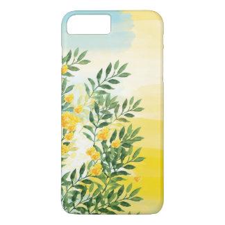 Coque iPhone 8 Plus/7 Plus Cas floral de téléphone d'été d'aquarelle