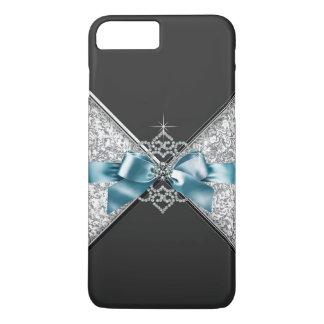 Coque iPhone 8 Plus/7 Plus Cas Girly de parties scintillantes de jewell