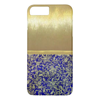 Coque iPhone 8 Plus/7 Plus cas mince de conception d'or de Shell de l'iPhone