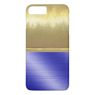 Coque iPhone 8 Plus/7 Plus cas mince de conception d'or de Shell de l'iPhone