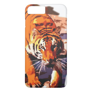 Coque iPhone 8 Plus/7 Plus Cas plus de l'iPhone 6 de tigre