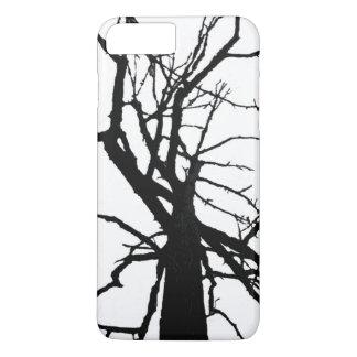 Coque iPhone 8 Plus/7 Plus Cas plus de l'iPhone 7 d'abrégé sur dessus d'arbre