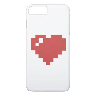 Coque iPhone 8 Plus/7 Plus Cas plus de l'iPhone 7 de coeur