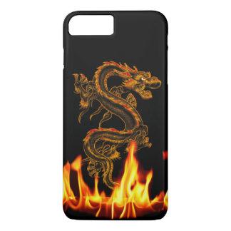Coque iPhone 8 Plus/7 Plus Cas plus de l'iPhone 7 de dragon du feu