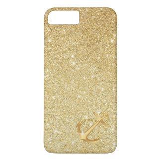 Coque iPhone 8 Plus/7 Plus Cas plus de l'iPhone 7 nautiques d'ancre de