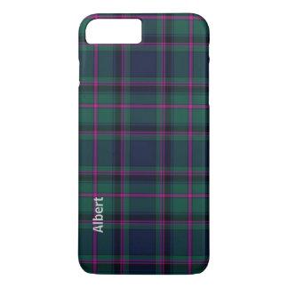 Coque iPhone 8 Plus/7 Plus Cas plus de l'iPhone 7 traditionnels de plaid de
