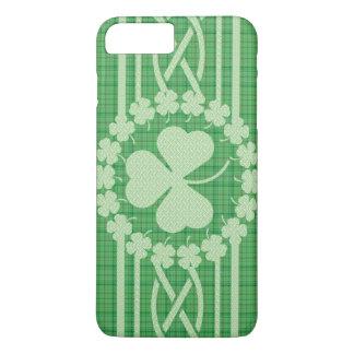 Coque iPhone 8 Plus/7 Plus Celtic irlandais de shamrock
