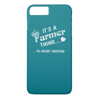 Coque iPhone 8 Plus/7 Plus C'est une chose d'agriculteur