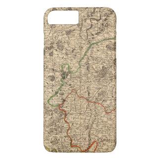 Coque iPhone 8 Plus/7 Plus Champs de bataille et routes français