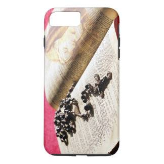 Coque iPhone 8 Plus/7 Plus Chapelet béni de bible de Vierge Marie