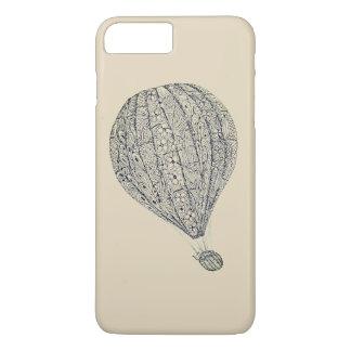 Coque iPhone 8 Plus/7 Plus Chaton original de conception dans un ballon à air
