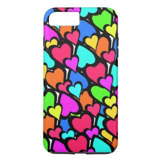 Coque iPhone 8 Plus/7 Plus Coeurs 2011