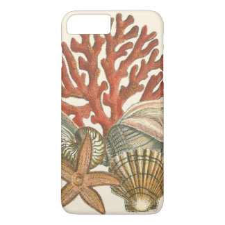 Coque iPhone 8 Plus/7 Plus Collection de vie marine