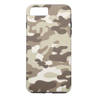 Coque iPhone 8 Plus/7 Plus Conception de Brown Camo